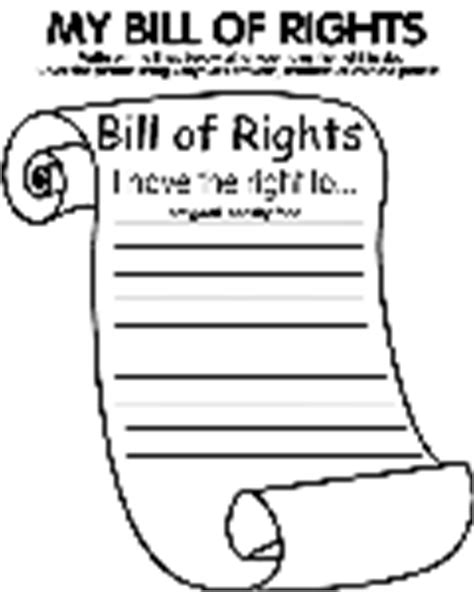 Thank You School Receptionist Crayola Com Au Bill Of Rights Coloring Pages