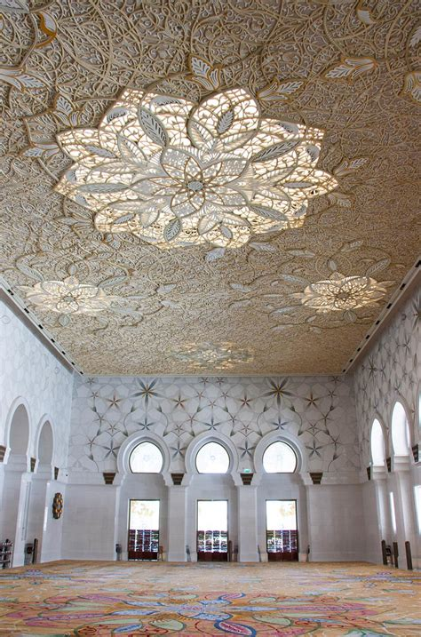 masjid ceiling design here are 5 of the most outstanding mosque ceilings in mena