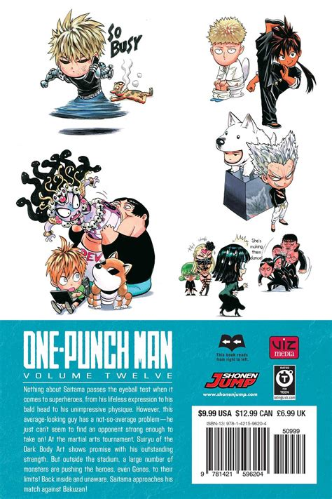 one punch vol 7 one punch volume 12