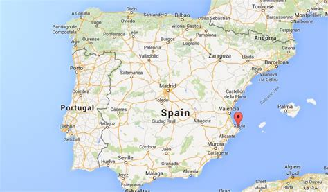 on map where is denia on map spain world easy guides