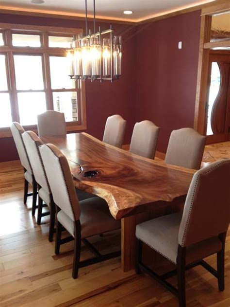 hardwood dining room furniture best 25 rustic round dining table ideas on pinterest
