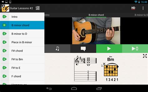 guitar tutorial app guitar lessons beginner 2 lite android apps on google play