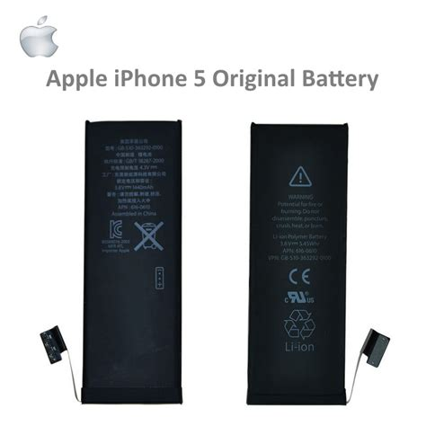 apple iphone 5 original battery li ion 1440mah 616 0611 616 0613