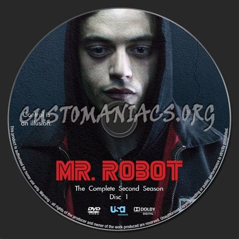 Cover Mr 2 mr robot season 2 dvd label dvd covers labels by