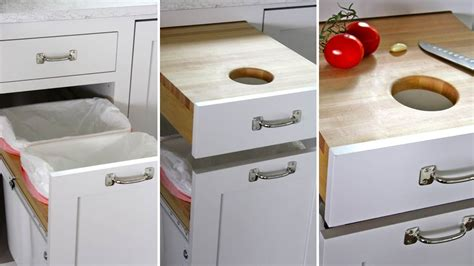 built in cutting board built in cutting board drawer is a secret place to slice