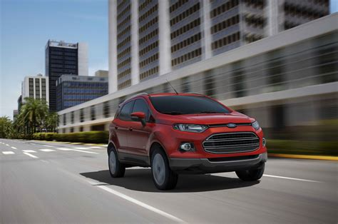 ford crossover report ford ecosport crossover will likely join u s lineup