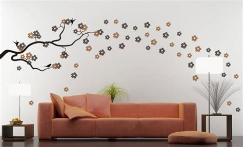 Wall Transfers For Living Room by Liven Up Your Living Room With Custom Wall Decals