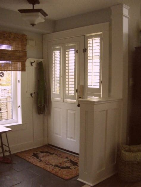 wall front door entry   home