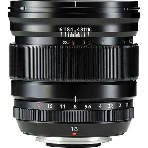 Fujifilm Lens Xf 16mm F 1 4 R fujifilm xf 16mm f 1 4 r wr lens miyamondo