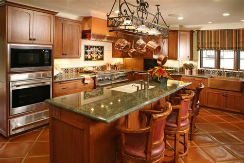 kitchen in spanish spanish revival restoration mediterranean kitchen other metro by cynthia bennett