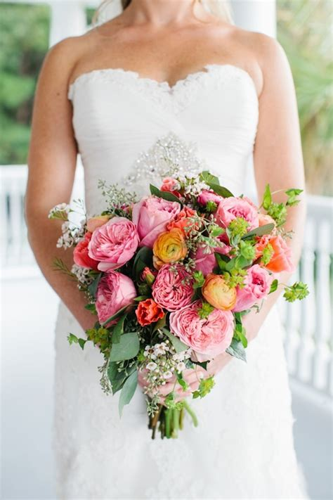 Big Wedding Bouquets by Big Bridal Bouquet With Pink Peonies Yellow Ranunculus And