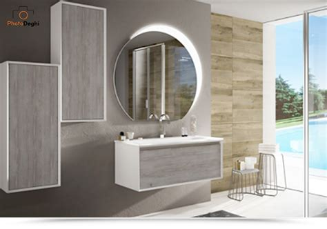 specchio per bagno moderno specchiera luce led retroilluminata 100x108cm design
