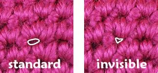 invisible knit increase planetjune by june gilbank 187 invisible increase for