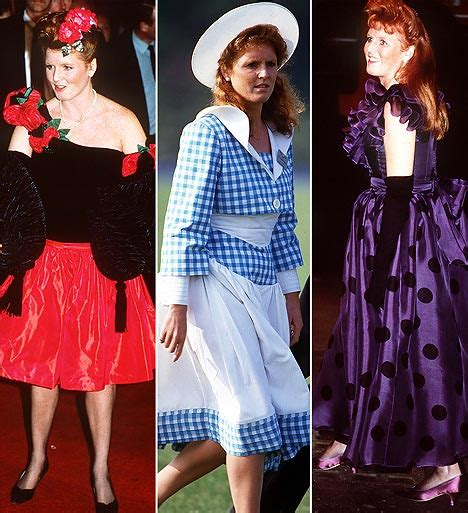 Function Meets Fashion With The Joining Of Fergie Ferguson Kipling by Duchess Of York Revisits Fashion Past With Tacky