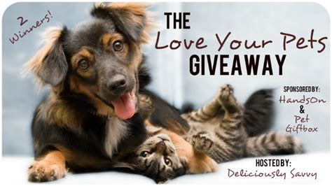 Pet Giveaways - love your pet giveaway strong tower llc