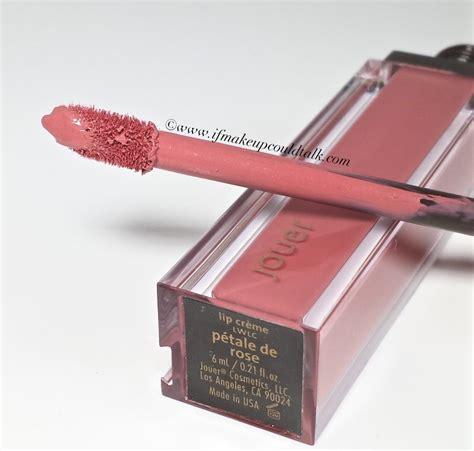 Jouer Lip Petale De jouer petale de and melon wear lip creme if makeup could talk