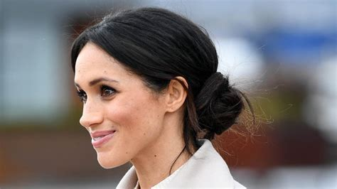 How to Do a Messy Bun Like Meghan Markle   InStyle.com