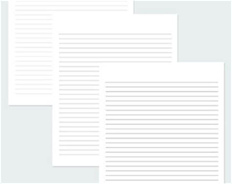 printable lined paper black and white black and white printable lined stationery pictures to pin