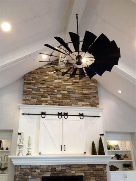 Windmill Wheel Ceiling Fan Kit Components, 6ft diameter, w