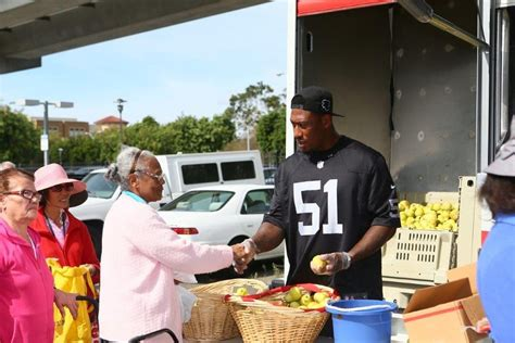 White County Food Pantry by Bruce Irvin Is Raiders Walter Payton Of The Year Award