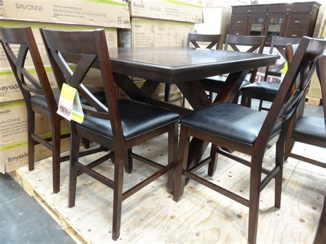 dining set with bench costco dining table with bench costco furniture mommyessence com