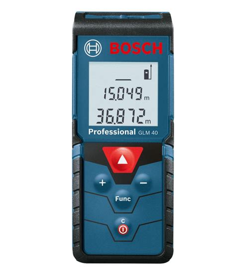Bosch Glm 15 Meteran Laser Digital bosch glm 40 digital laser distance finder buy bosch glm