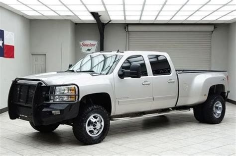 manual cars for sale 2008 chevrolet silverado 3500 security system find used 2008 chevy 3500hd diesel 4x4 dually ltz heated leather bose lifted texas truck in