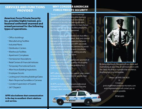 security company brochure template security company brochure template 28 images 20 best