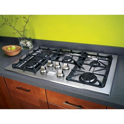 Drop In Cooktop Gas kenmore pro 31013 36 quot gas drop in cooktop stainless