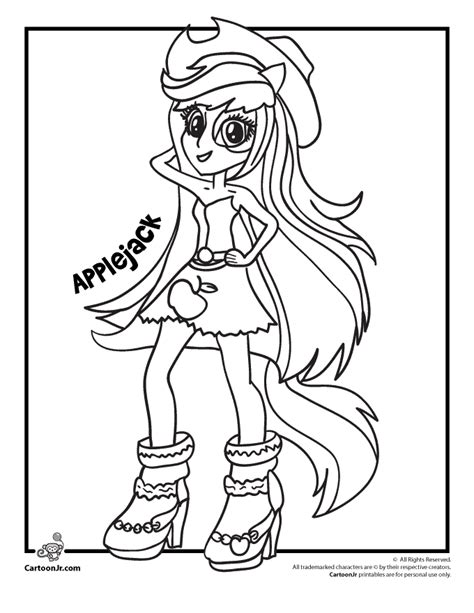 my little pony coloring pages equestria girls coloring home