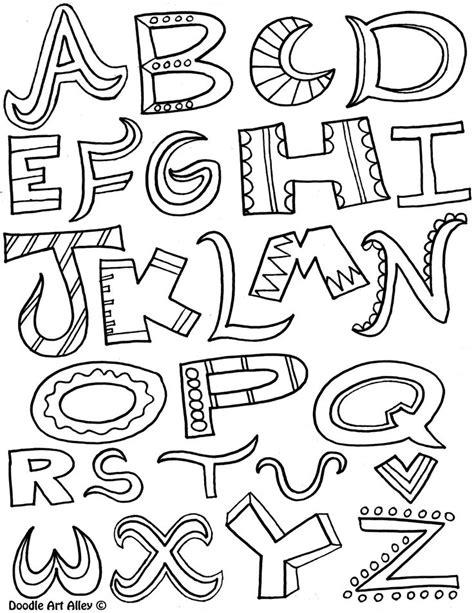 doodle combinations alphabetical order 25 best ideas about doodle alphabet on letter