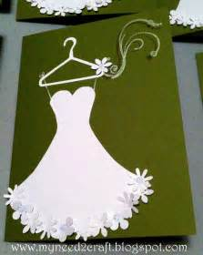 myneed2craft bridal shower luncheon invite