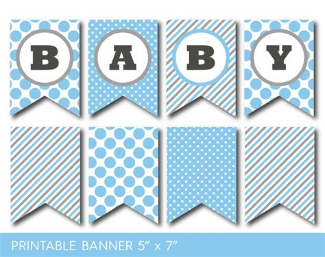 Free Printable Banners For Baby Shower by Printable Baby Shower Banner Letters Design Baby