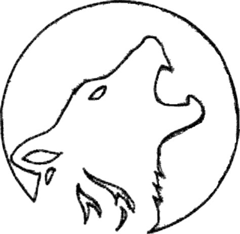 wolf stencil template wolf pumpkin carving ideas
