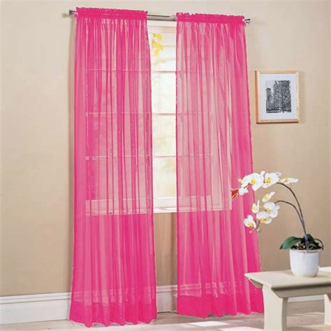 hot pink bedroom curtains hot pink curtains for girls room myideasbedroom com