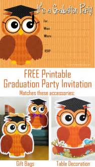planning center free printable graduation invitation template