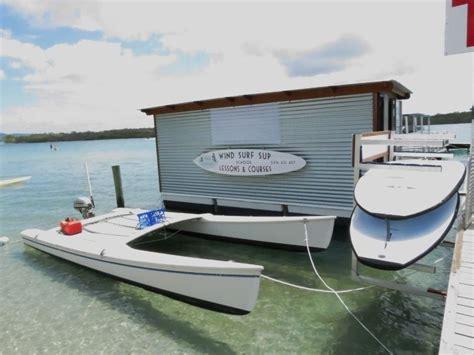 power catamaran boat kits catamaran conversion to power small catamarans
