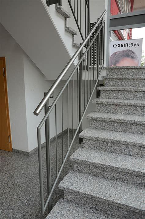 edelstahlgeländer treppenhaus gel 228 nder wagner metallbau m 246 ssingen
