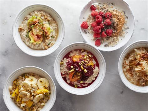 To Market Bowl Snacks by 5 Sweet Oatmeal Bowl Recipes Food Network Healthy