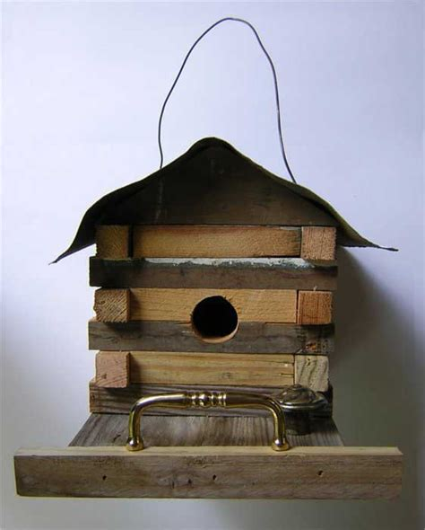 Log Cabin Bird House Plans Cabin Birdhouse Plans