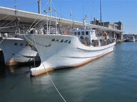used fishing boat japan hokuriku shipyard squid fishing vessel inboard used boat