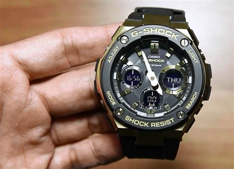 casio g shock g steel gst s100g 1a indowatch co id