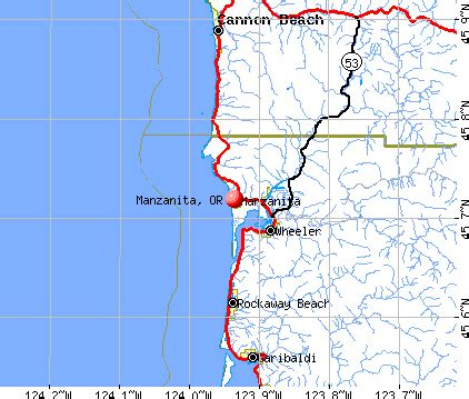 manzanita oregon or 97130 profile population maps