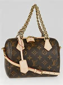 5 Reasons To Buy Louis Vuitton Speedy Bag by Louis Vuitton Limited Edition Monogram Canvas Speedy Chain
