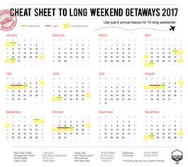 Calendar 2018 Singapore With Week Sg Guide To Weekend Getaways 2017 Pohtecktoes