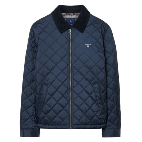 Next Mens Jackets Quilted by Gant The Quilted Windcheater Mens Jacket Mens From