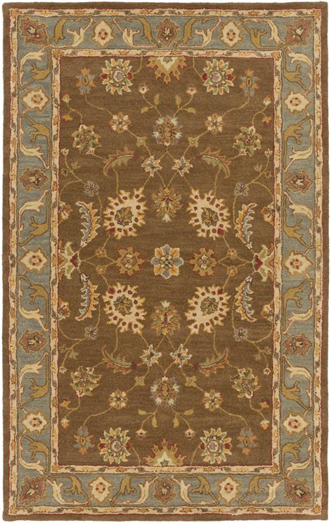 Light Blue And Brown Area Rug Artistic Weavers Middleton Emerson Awhr2060 Brown Light Blue Area Rug