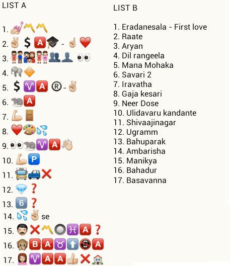 film emoji puzzel match kannada movies puzzlersworld com