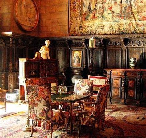 Castle Interior Design by Hearst Castle Historical World