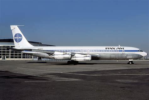 United Airlines American Airlines by File Boeing 707 321b Pan American World Airways Pan Am